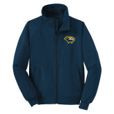 Navy Charger Jacket-Cougar Head