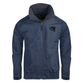 Navy Charger Jacket-SAU stepped with Cougar Head