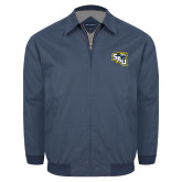 Navy Players Jacket-SAU stepped with Cougar Head