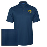 Navy Performance Fine Jacquard Polo-Cougar Head