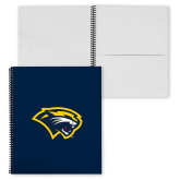 College Spiral Notebook w/Clear Coil-Cougar Head