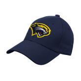 Navy Heavyweight Twill Pro Style Hat-Cougar Head