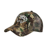 Camo Pro Style Mesh Back Structured Hat-Cougar Head