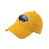 Gold OttoFlex Unstructured Low Profile Hat-Cougar Head