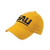 Gold Flexfit Mid Profile Hat-SAU