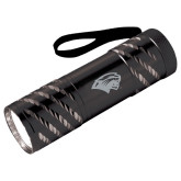 Astro Black Flashlight-Cougar Head Engraved