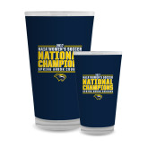 Full Color Glass 17oz-Cougar Womens Soccer Champions