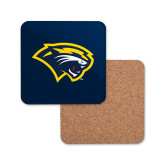 Hardboard Coaster w/Cork Backing-Cougar Head