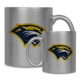 Full Color Silver Metallic Mug 11oz-Cougar Head
