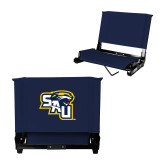 Stadium Chair Navy-SAU stepped with Cougar Head