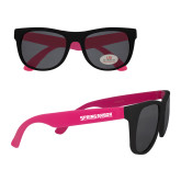 Black/Hot Pink Sunglasses-Spring Arbor