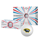 Callaway Supersoft Golf Balls 12/pkg-Cougar Head