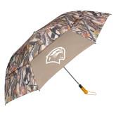 58 Inch Hunt Valley Camo Vented Umbrella-Cougar Head