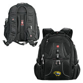 Wenger Swiss Army Mega Black Compu Backpack-Cougar Head