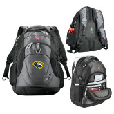 Wenger Swiss Army Tech Charcoal Compu Backpack-Cougar Head