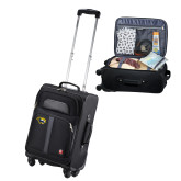 Wenger 4 Wheeled Spinner Black Carry On-Cougar Head