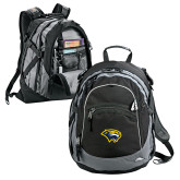 High Sierra Black Titan Day Pack-Cougar Head