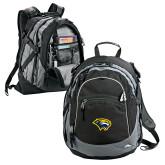 High Sierra Black Titan Day Pack-Cougar Head