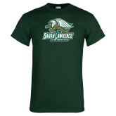 Dark Green T Shirt-Swimming