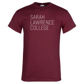 Maroon T Shirt-Primary Mark