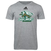 Adidas Sport Grey Logo T Shirt-Primary Athletics Mark