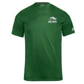 Russell Core Performance Dark Green Tee-Primary Athletics Mark