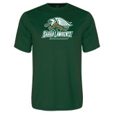 Performance Dark Green Tee-Primary Athletics Mark