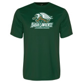 Performance Dark Green Tee-Equestrian