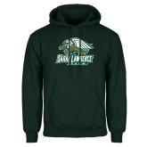 Dark Green Fleece Hood-Crew