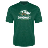Performance Dark Green Heather Contender Tee-Primary Athletics Mark