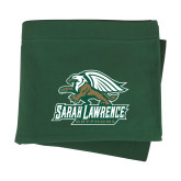 Dark Green Sweatshirt Blanket-Primary Athletics Mark