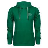Adidas Climawarm Dark Green Team Issue Hoodie-Primary Mark