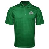 Dark Green Mini Stripe Polo-Primary Athletics Mark