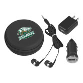 3 in 1 Black Audio Travel Kit-Primary Athletics Mark