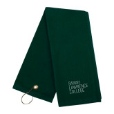 Dark Green Golf Towel-Primary Mark