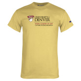 Champion Vegas Gold T Shirt-125 Years Mark