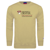 Champion Vegas Gold Fleece Crew-125 Years Mark