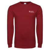Cardinal Long Sleeve T Shirt-Primary Mark