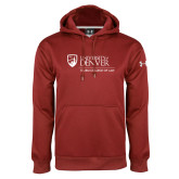 Under Armour Cardinal Performance Sweats Team Hoodie-Primary Mark