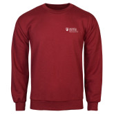 Cardinal Fleece Crew-Primary Mark
