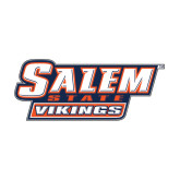 Medium Decal-Salem State Vikings Word Mark, 8 inches wide