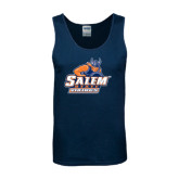 Navy Tank Top-Primary Logo