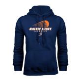 Navy Fleece Hoodie-Salem State Lacrosse Modern