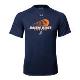 Under Armour Navy Tech Tee-Salem State Lacrosse Modern