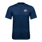 Syntrel Performance Navy Tee-Primary Logo