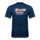 Syntrel Performance Navy Tee-Lacrosse