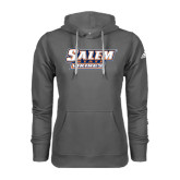 Adidas Climawarm Charcoal Team Issue Hoodie-Salem State Vikings Word Mark