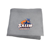 Grey Sweatshirt Blanket-Primary Logo