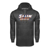 Under Armour Carbon Performance Sweats Team Hoodie-Salem State Vikings Word Mark