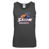 Charcoal Tank Top-Primary Logo